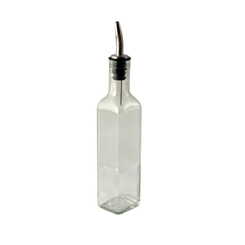 Square Olive Oil Bottle With Tapor 250ml