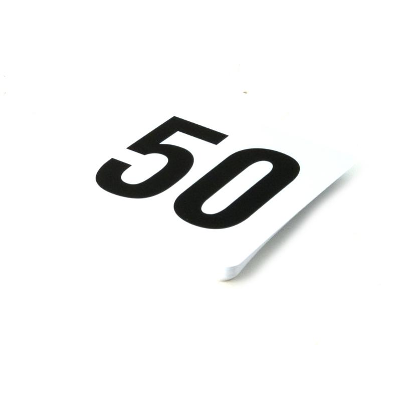 Number Card Set 1-50