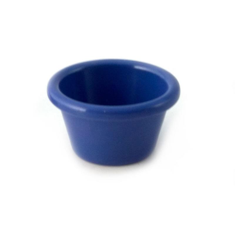 3oz Melamine Plain Ramekin Blue