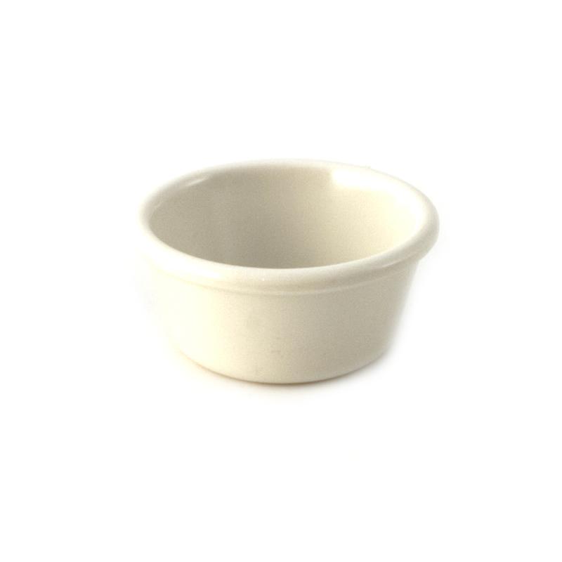 6 oz Melamine Plain Ramekin Bone
