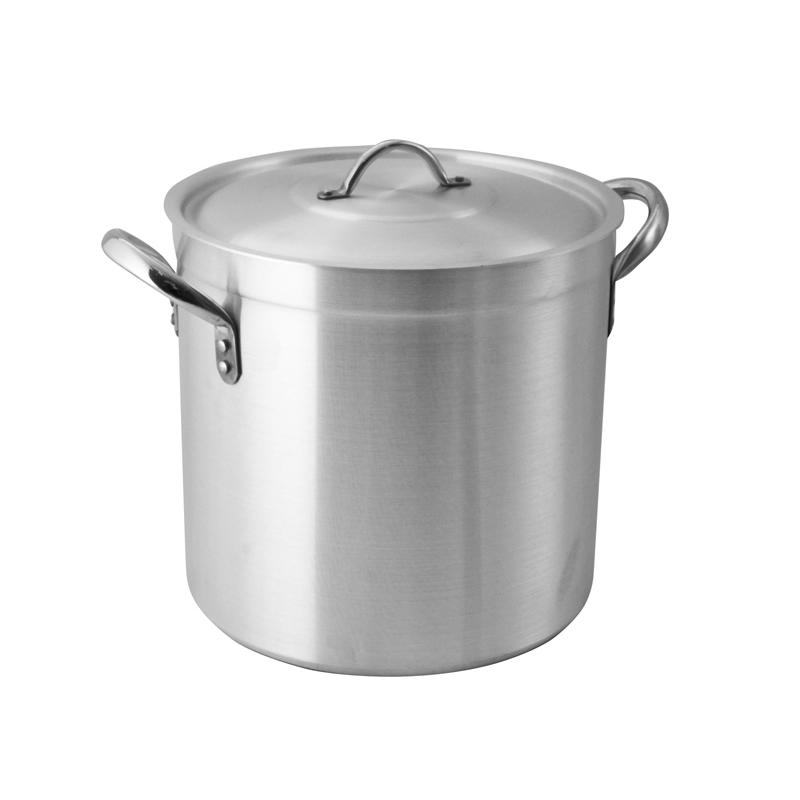 Pardini Aluminium 700 Series Deep Stock Pot With Lid 30cm