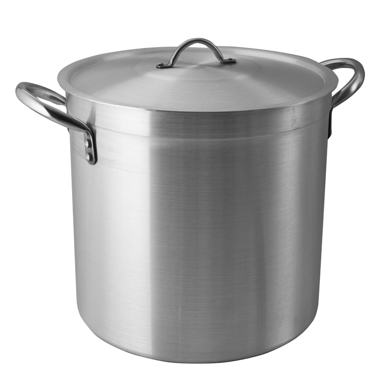 Pardini Aluminium 700 Series Deep Stock Pot With Lid 36cm