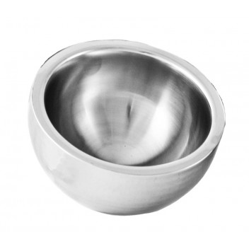 Dual Angle Bowl Plain Double Walled 25cm